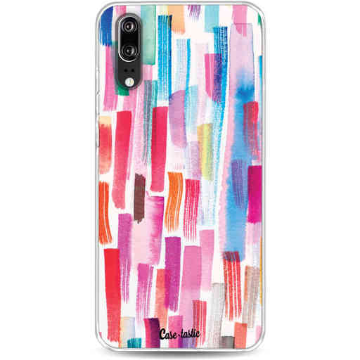 Casetastic Softcover Huawei P20 - Colorful Strokes