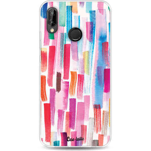 Casetastic Softcover Huawei P20 Lite (2018) - Colorful Strokes
