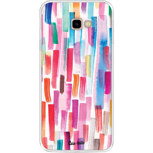 Casetastic Softcover Samsung Galaxy J4 Plus (2018) - Colorful Strokes