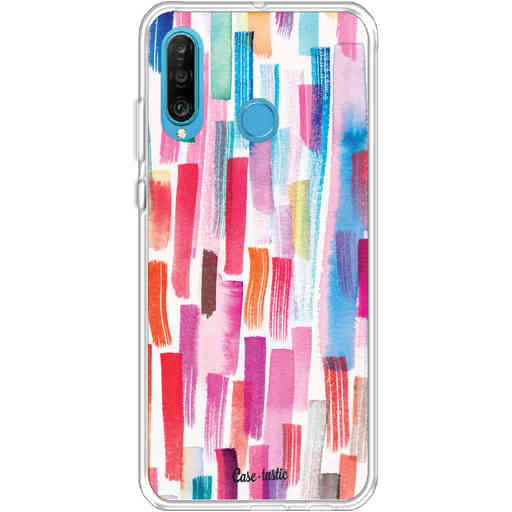 Casetastic Softcover Huawei P30 Lite - Colorful Strokes