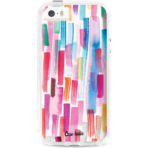 Casetastic Dual Snap Case Apple iPhone 5 / 5s / SE - Colorful Strokes