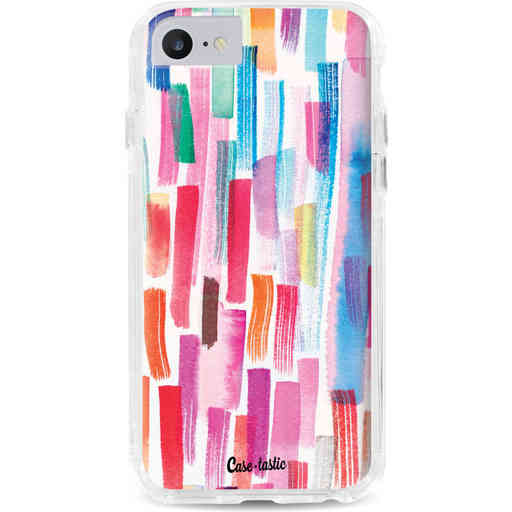 Casetastic Dual Snap Case Apple iPhone 7 / 8 - Colorful Strokes