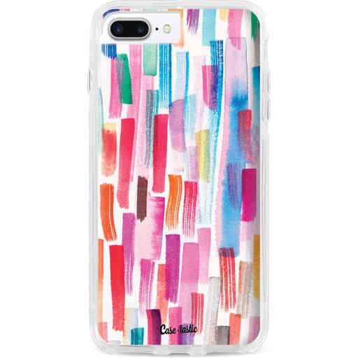 Casetastic Dual Snap Case Apple iPhone 7 Plus / 8 Plus - Colorful Strokes