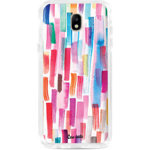 Casetastic Dual Snap Case Samsung Galaxy J7 (2017) - Colorful Strokes