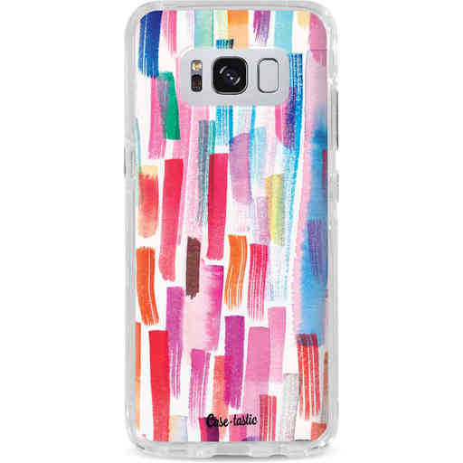 Casetastic Dual Snap Case Samsung Galaxy S8 - Colorful Strokes