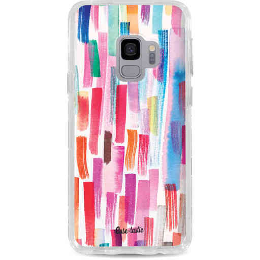 Casetastic Dual Snap Case Samsung Galaxy S9 - Colorful Strokes