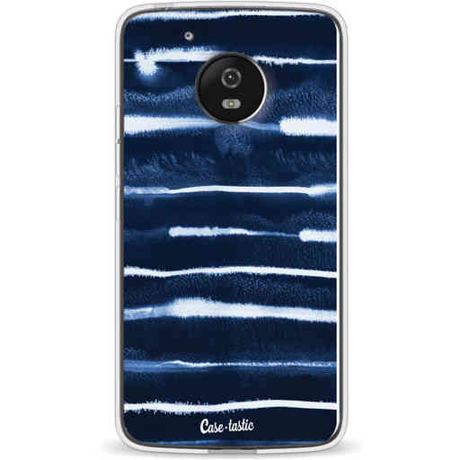 Casetastic Softcover Motorola Moto G5 - Electrical Navy