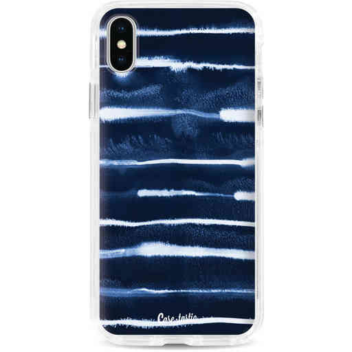 Casetastic Dual Snap Case Apple iPhone X / XS - Electrical Navy