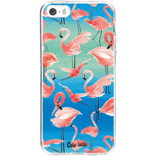 Casetastic Softcover Apple iPhone 5 / 5s / SE - Flamingo Vibe