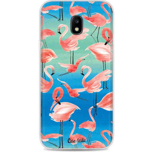 Casetastic Softcover Samsung Galaxy J3 (2017)  - Flamingo Vibe