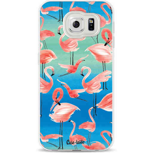 Casetastic Softcover Samsung Galaxy S6 - Flamingo Vibe