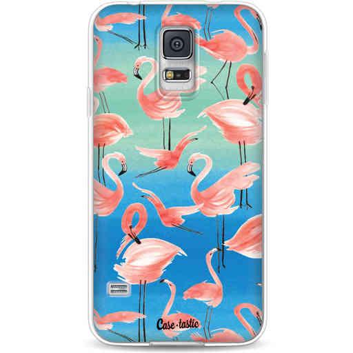 Casetastic Softcover Samsung Galaxy S5  - Flamingo Vibe