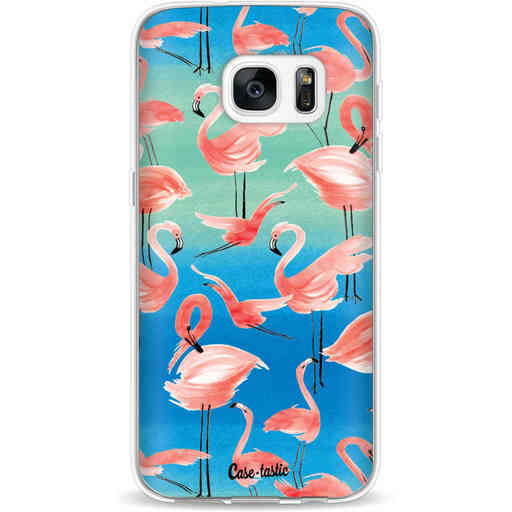 Casetastic Softcover Samsung Galaxy S7 - Flamingo Vibe