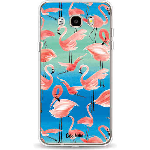 Casetastic Softcover Samsung Galaxy J5 (2016) - Flamingo Vibe