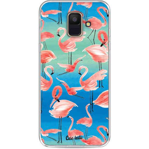 Casetastic Softcover Samsung Galaxy A6 (2018) - Flamingo Vibe
