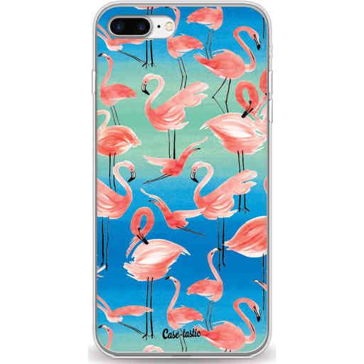 Casetastic Softcover Apple iPhone 7 Plus / 8 Plus - Flamingo Vibe