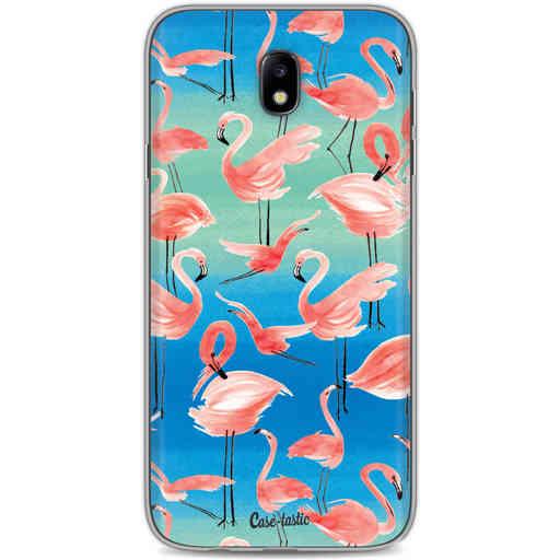 Casetastic Softcover Samsung Galaxy J7 (2017) - Flamingo Vibe