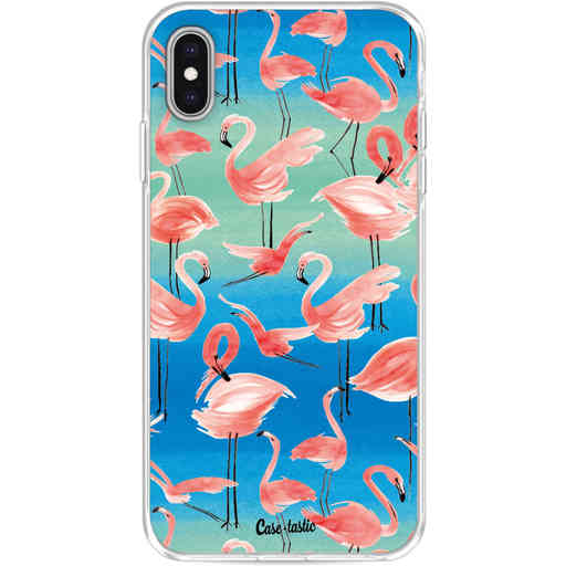 Casetastic Softcover Apple iPhone XS Max - Flamingo Vibe