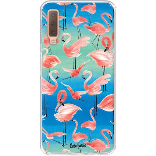Casetastic Softcover Samsung Galaxy A7 (2018) - Flamingo Vibe