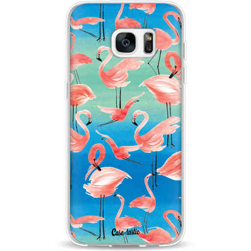 Casetastic Softcover Samsung Galaxy S7 Edge - Flamingo Vibe