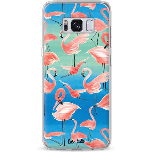 Casetastic Softcover Samsung Galaxy S8 - Flamingo Vibe