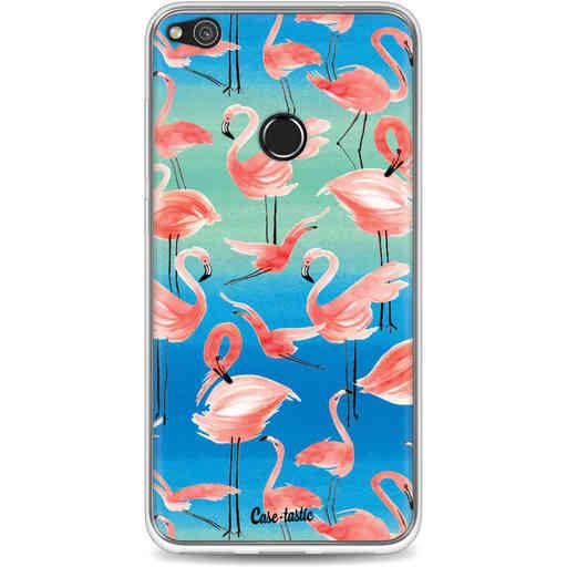 Casetastic Softcover Huawei P8 Lite (2017) - Flamingo Vibe