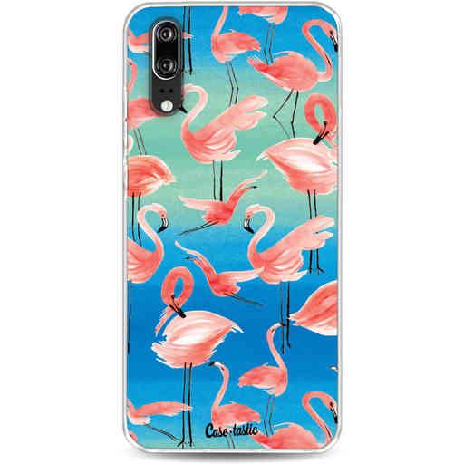 Casetastic Softcover Huawei P20 - Flamingo Vibe