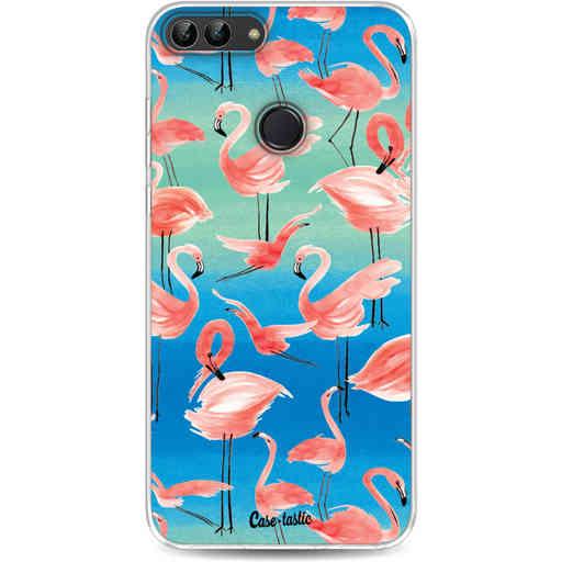 Casetastic Softcover Huawei P Smart - Flamingo Vibe
