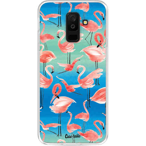 Casetastic Softcover Samsung Galaxy A6 Plus (2018) - Flamingo Vibe