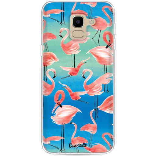 Casetastic Softcover Samsung Galaxy J6 (2018) - Flamingo Vibe