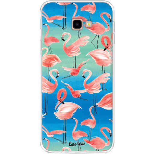 Casetastic Softcover Samsung Galaxy J4 Plus (2018) - Flamingo Vibe