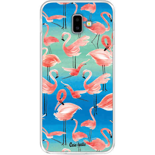 Casetastic Softcover Samsung Galaxy J6 Plus (2018) - Flamingo Vibe