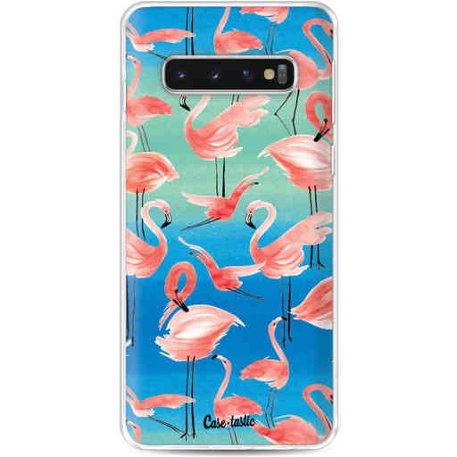 Casetastic Softcover Samsung Galaxy S10 - Flamingo Vibe