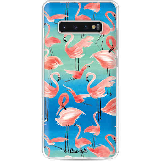 Casetastic Softcover Samsung Galaxy S10 Plus - Flamingo Vibe