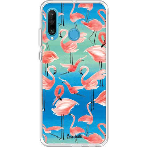 Casetastic Softcover Huawei P30 Lite - Flamingo Vibe