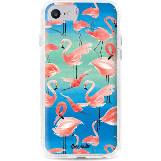 Casetastic Dual Snap Case Apple iPhone 7 / 8 - Flamingo Vibe