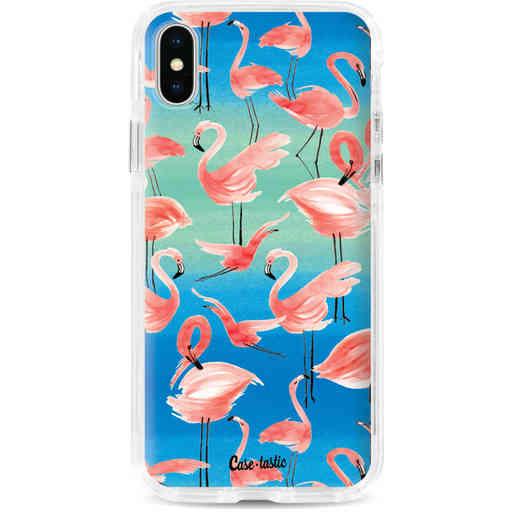 Casetastic Dual Snap Case Apple iPhone X / XS - Flamingo Vibe