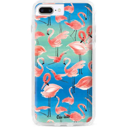 Casetastic Dual Snap Case Apple iPhone 7 Plus / 8 Plus - Flamingo Vibe