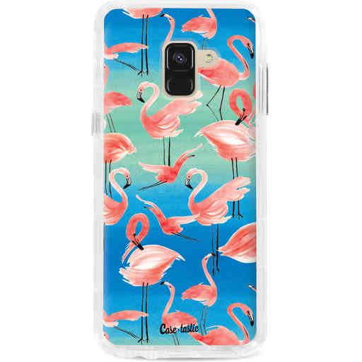 Casetastic Dual Snap Case Samsung Galaxy A8 (2018) - Flamingo Vibe