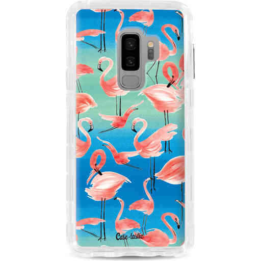 Casetastic Dual Snap Case Samsung Galaxy S9 Plus - Flamingo Vibe
