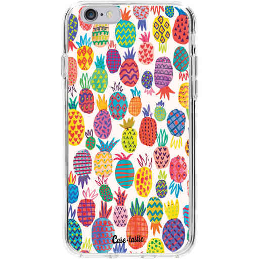Casetastic Softcover Apple iPhone 6 / 6s - Happy Pineapples