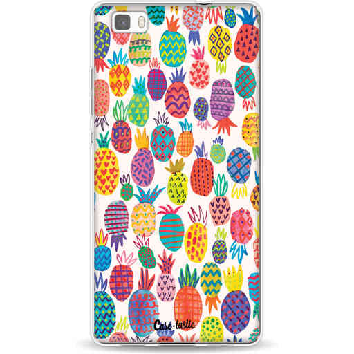 Casetastic Softcover Huawei P8 Lite - Happy Pineapples
