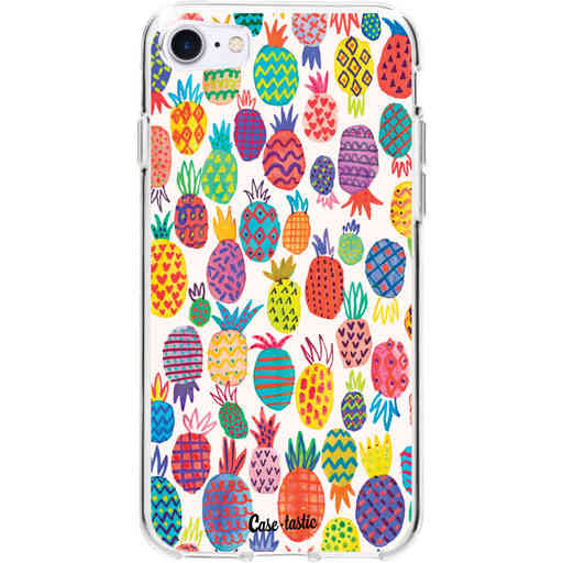 Casetastic Softcover Apple iPhone 7 / 8 - Happy Pineapples