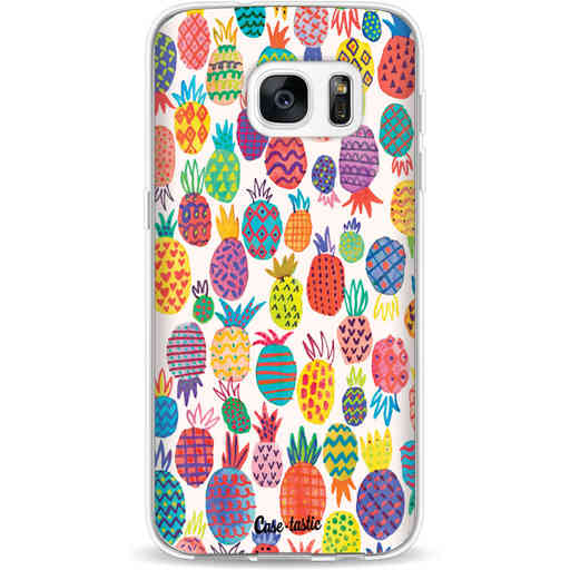 Casetastic Softcover Samsung Galaxy S7 - Happy Pineapples
