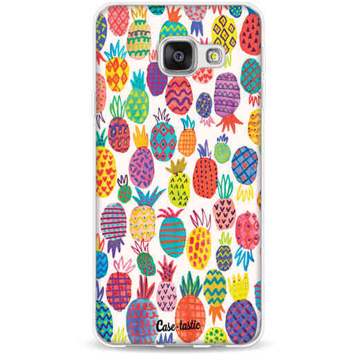 Casetastic Softcover Samsung Galaxy A3 (2016) - Happy Pineapples