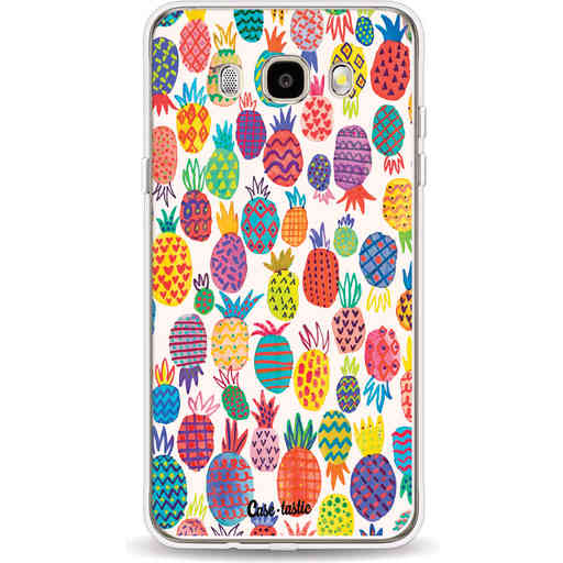 Casetastic Softcover Samsung Galaxy J5 (2016) - Happy Pineapples