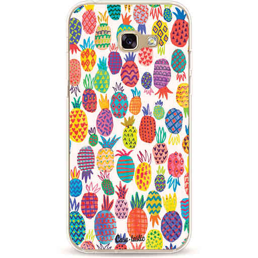 Casetastic Softcover Samsung Galaxy A5 (2017) - Happy Pineapples
