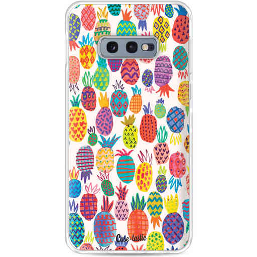 Casetastic Softcover Samsung Galaxy S10e - Happy Pineapples