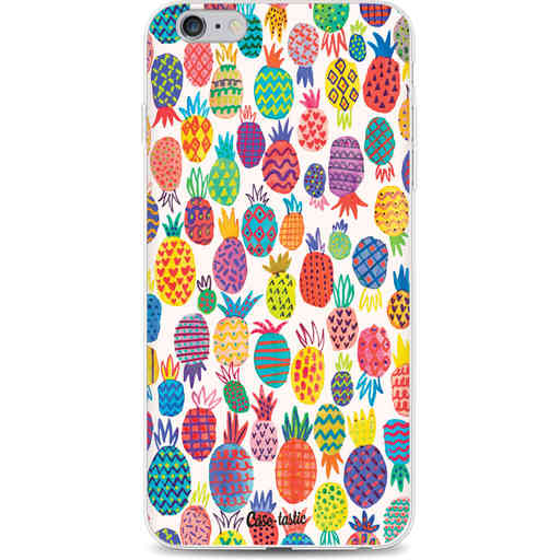 Casetastic Softcover Apple iPhone 6 Plus / 6s Plus - Happy Pineapples