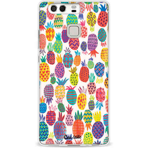 Casetastic Softcover Huawei P9 - Happy Pineapples